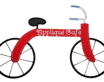 130 Bicycle Machine Embroidery Applique Design
