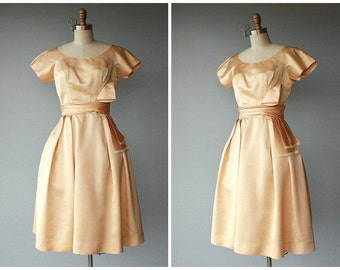 Vintage Prom Dress | Vintage 1950s Dress | 50s Dress | 50s Party Dress | 1950s Formal Dress