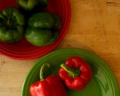Red and Green Bell Pepper Seeds - California Wonder Sweet Peppers