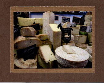 Dingle Cheese Shop.  Dingle Ireland. Blank Note Card. Travel Photo Card