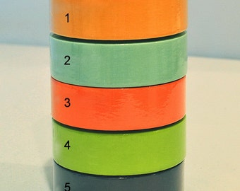 Solid Color Washi Tape (SC15-151)