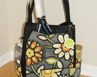 Large Tennis Bag and Small Accessory Bag-made to Order..