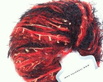 Phoenix Dipinto Ice Mohair Nylon Poly Acrylic Eyelash Blend Yarn 50gr 32286