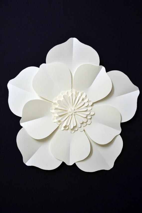 large paper flower for wedding decoration