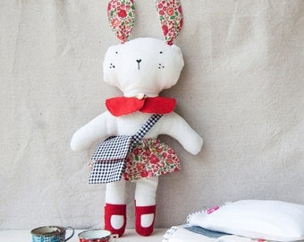 Softie / Bunny/ Paprika Bunny / Doll / Child's Toy  / Childrens Toy / Toy