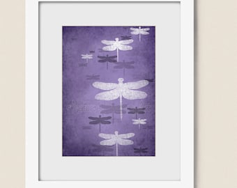 Popular Items For Purple Bathroom Art On Etsy