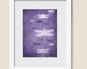 Popular Items For Purple Bathroom Art On Etsy