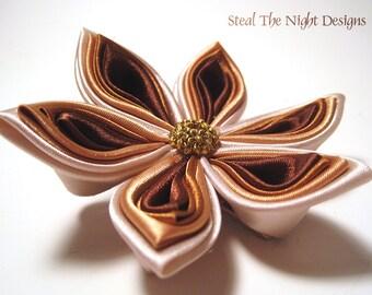 Golden Starflower Hair Ornament