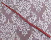 Magick Wand Exotic BloodWood, Hand Carved, Magic, Wicca, Witch