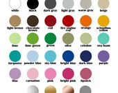 Color Sample Swatches up to 5 colors