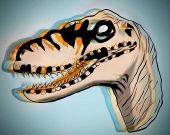 CONTEMPORARY ART PRINT - Raptor