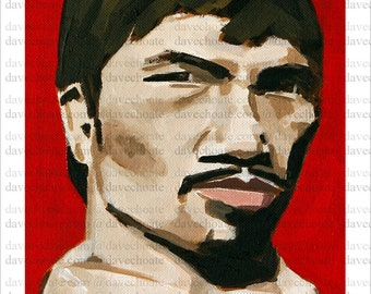 Manny Pacquiao Art Photo Print