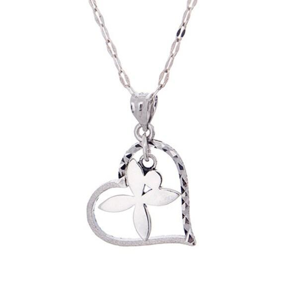 iron girl jewelry grace heart necklace half marathon and
