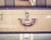 SALE old luggage 8 x 10 photograph