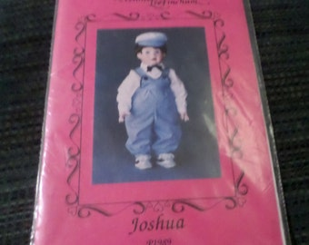 Connie Lee Finchum boy doll outfit pattern Joshua