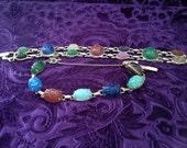 Vintage Gold Scarab Bracelets