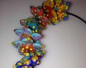 Handmade Glass Flowers - Orphans