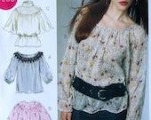 Top Sewing Pattern UNCUT McCalls M6437 Sizes 18w-24w Laura Ashley Plus Size
