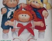 Cabbage Patch Doll Clothes Sewing Pattern UNCUT Butterick 3151 sailor dress suit