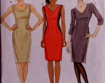 Vogue Dress Sewing Pattern UNCUT V8666 Sizes 6-12