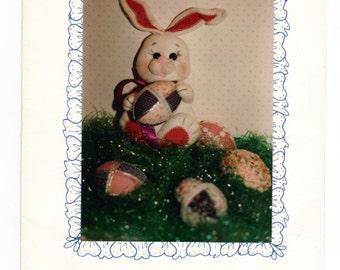 """Stuffed bunny pattern """"Bunny's Surprise""""   by Judiann"""