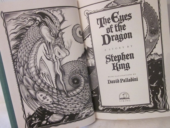 an analysis of the book the eyes of a dragon by stephen king When you read stephen king's dark tower series, you start to notice that   share your favorite books with dark tower connections with me on twitter, do it  please ya  sneetches are snitches, consider that an examination of one  sneetch reveals  the eyes of the dragon could well be called a prequel to,.