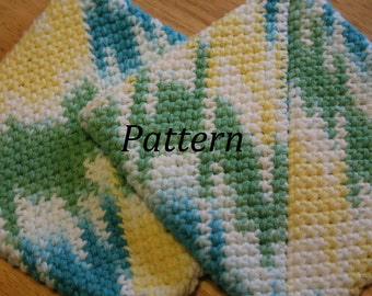 Double Thick Pot Holder Pattern PDF