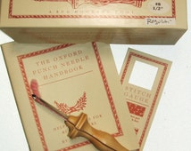 Oxford Wood Punch Needle Rug Hooking Tool  Size 8 1/2 inch Regular