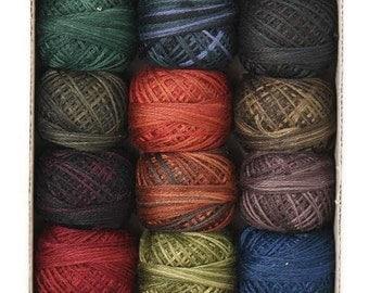 Valdani 3 Strand Cotton Floss Embroidery PunchneedleThread Country Lights 1 Set