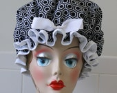 "Shower Cap Women's Waterproof Washable ""HEXI"""