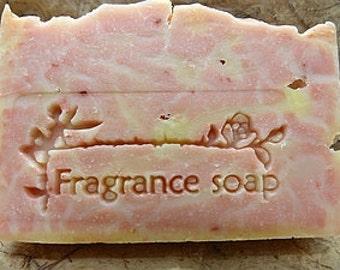 Fragrance soap stamp