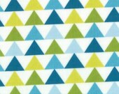 Mixed Bag by Studio M for Moda Fabrics, Tee Pee Sweet Pea, 1/2 yard