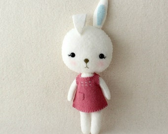 Pocket Bunny pdf Pattern - Instant Download