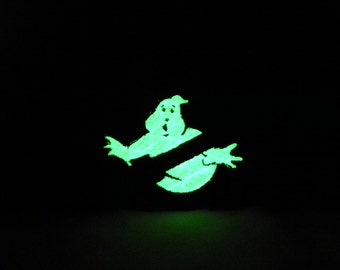 3 inch high Glow in the dark Ghostbusters patch