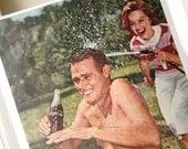 Coca-Cola Vintage Ad 1960