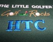 Monograming for the Little Golfer Set, Bag