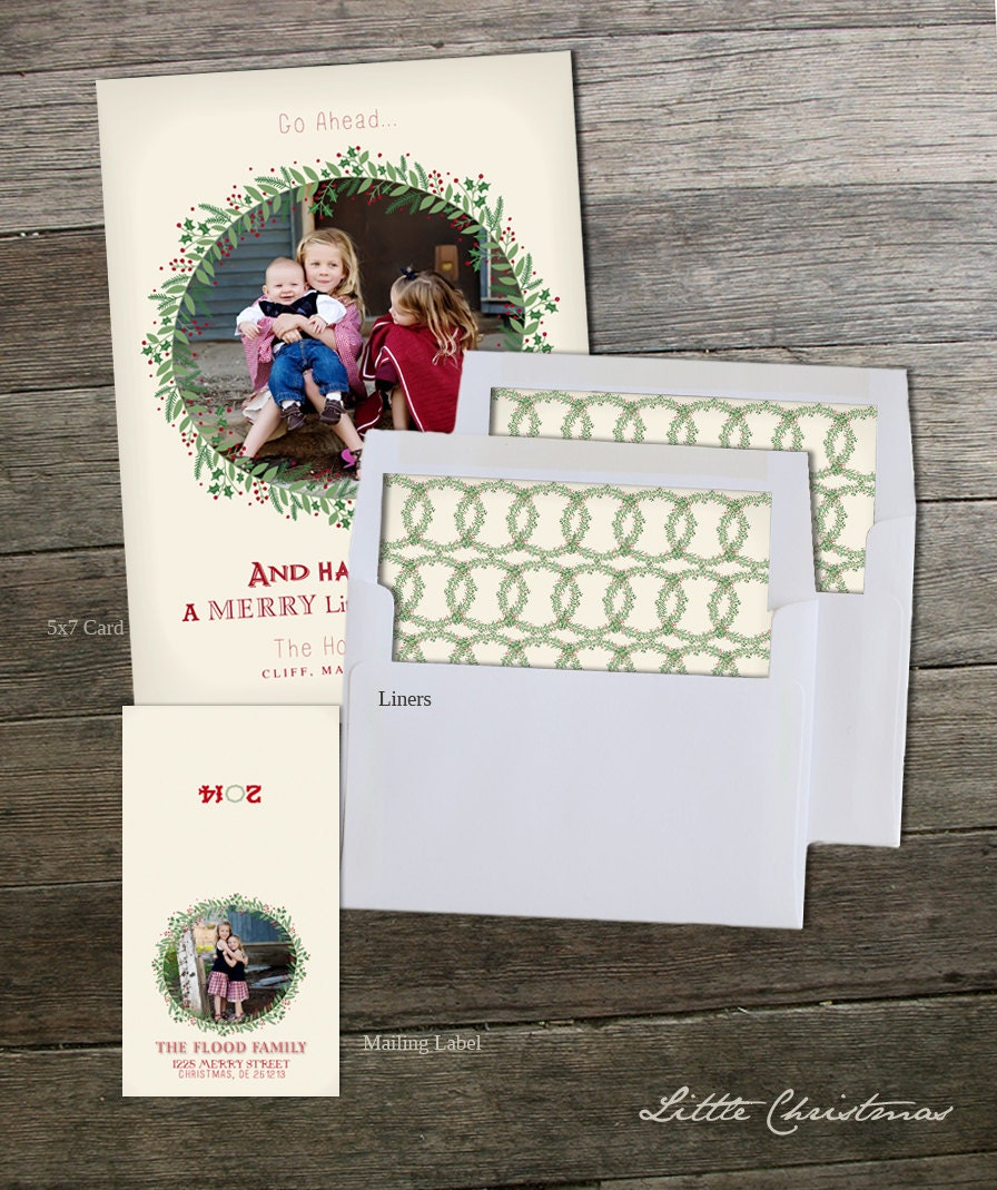 Little Christmas 5x7 Christmas Card Collection