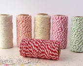 Baker's Twine, Red , 22 Yards, 20 meters. For your crafting projects. Ready to ship.