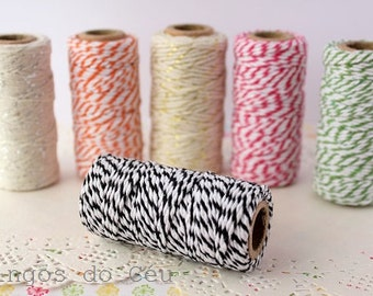 Baker's Twine, Black , 22 Yards, 20 meters. For your crafting projects. Ready to ship.