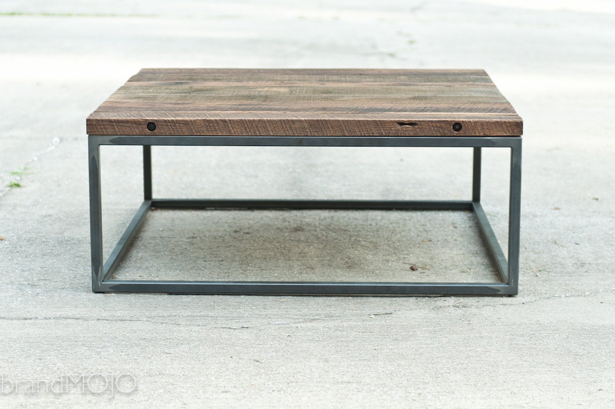 Industrial Hardwood Coffee Table The By Brandmojointeriors