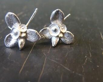 Purslane Posts -- Botanical Jewelry -- Nature Cast -- Ready to Ship