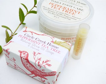 Peppermint Bath and Body Collection - Handmade by Circle Creek Home