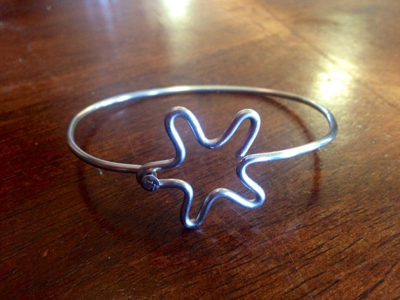 Star Bicycle Spoke Bracelet