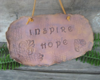 Inspire Hope Wall Hanging