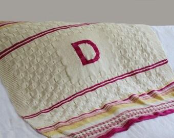 Knitting PATTERN- Toddler Blanket PDF