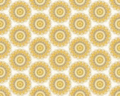 Yellow Fabric - Riley Blake - My Mind's Eye - Indie Chic -  1 Yard - C3243