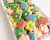 Mini Hibiscus Flower Cookies (1 pound)