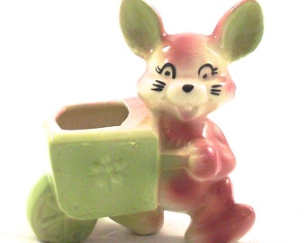 Popular Items For Bunny Planter On Etsy