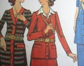 Butterick 6481 woman's sz 14 Sweater dress, two-piece suit, pants sewing pattern
