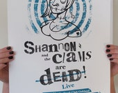 Shannon and the Clams Poster